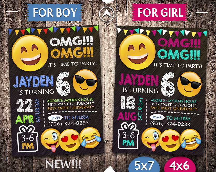 It's just a photo of Printable Emoji Invitations throughout smiley theme