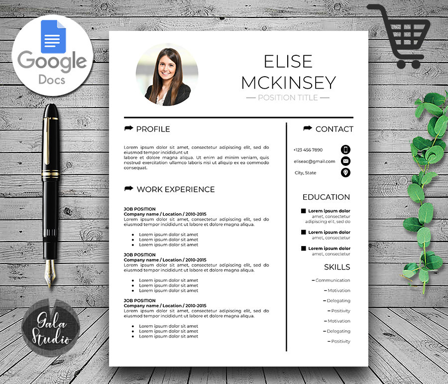 Resume Cover Letter Template Google Docs from makemedesign.com