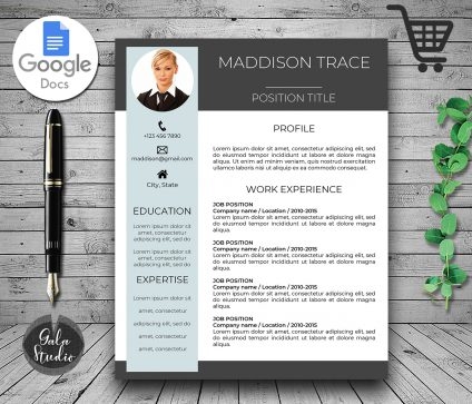 Resume Google Docs, Resume Template for Google Docs, References, Cv Template Google Docs, Cover Letter, Google Doc Resume