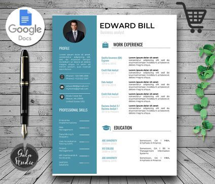 Resume Template Cover Letter and References, Resume Template for Google Docs, Instant Download Resume Templates, Minimalist Resume Pages
