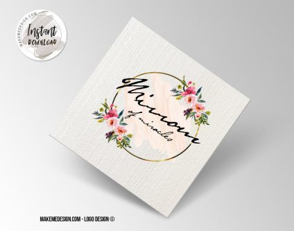 Logo Design, Printable Business Card, Professional Logo Design, Minimalist Business Cards, Logo for Shop