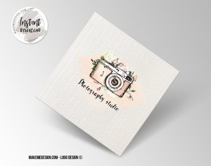 Photography Logo Design, Printable Business Card, Professional Logo Design, Minimalist Business Cards, Logo for Shop