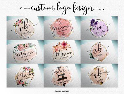 Custom Logo Design, Minimalist Logo, Branding Logo Design
