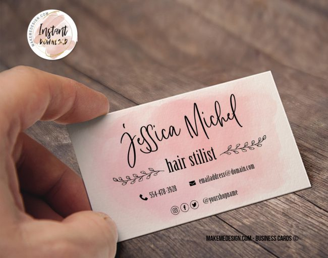 Custom Business Card, Personalized Business Card, Customized Business Card