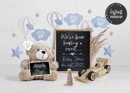 For Boy Pregnancy Announcement, Announcing Pregnancy, For Boy Social Media Pregnancy Announce, Neutral Pregnancy Announcement, For Boy Neutral Baby Announcement